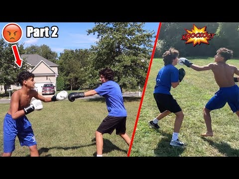 I BOXED MY SCHOOL BULLY AGAIN...PART 2 *Knockout*