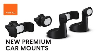 NEW PREMIUM CAR MOUNTS from KENU