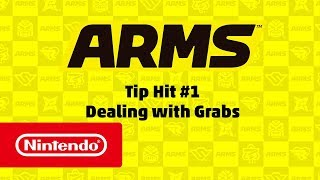 ARMS Tip Hit #1 - Dealing with Grabs (Nintendo Switch)