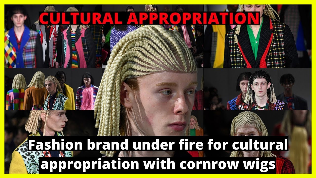 |NEWS| -Cultural Appropriation- Fashion Brand Under Fire For Cornrow Wigs