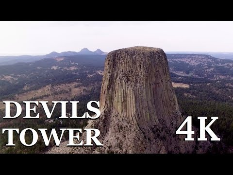 Devils Tower - 4K Drone