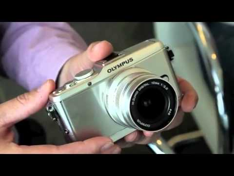 olympus-pen-e-p3,-e-pl3-&-e-pm1-first-look-hands-on-review-youtube