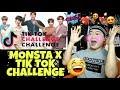 MONSTA X 몬스타엑스 TIK TOK CHALLENGE REACTION
