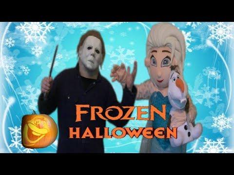 Michael Myers Vs. Elsa - Frozen Halloween