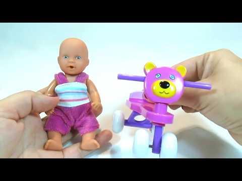 Видео, Дочки Матери с пупсами 5 серии. Делаем прически и платья, рисуем красками. Игрушкин ТВ
