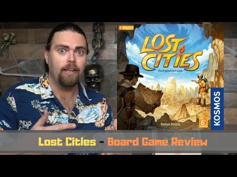 Lost Cities - Board Game Review