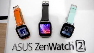 Asus Zenwatch 2 Hands On