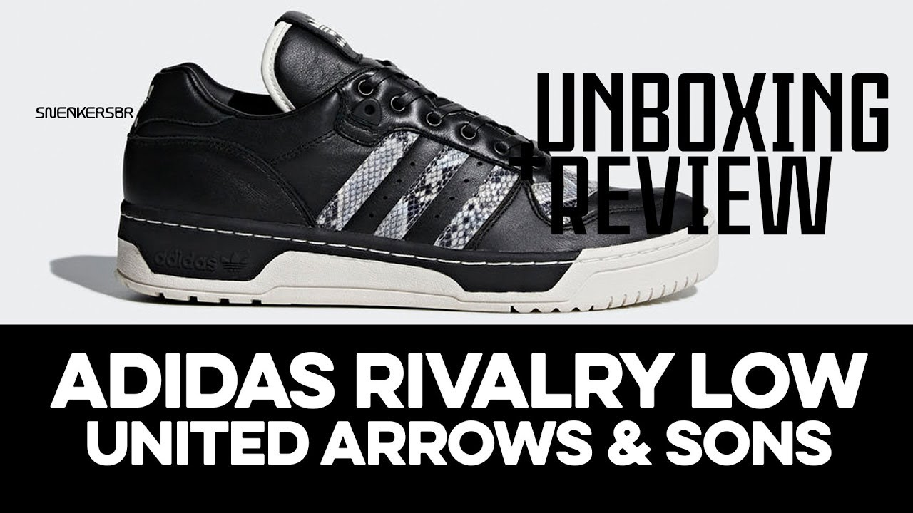 5710c10c966a7 UNBOXING+REVIEW - adidas Rivalry Low  United Arrows   Sons  - YouTube