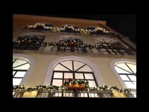 Casa Di Babbo Natale Candela.La Casa Di Babbo Natale Candela Foggia Youtube