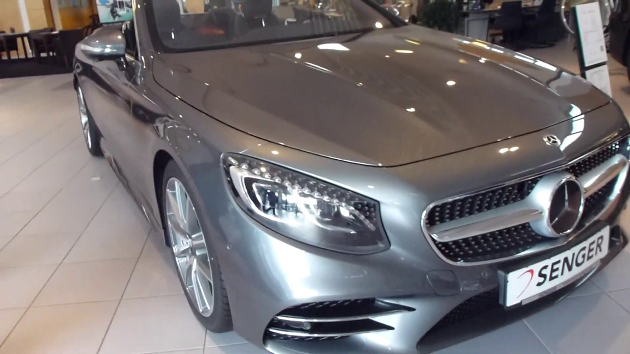 2019 mercedes s 560 cabriolet 4 0 v8 biturbo 469 hp 250 km h 155 mph playlist youtube youtube