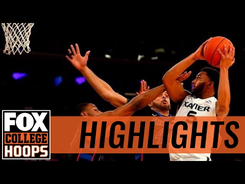 Xavier Musketeers vs. DePaul Blue Demons | 2017 BIG EAST TOURNAMENT HIGHLIGHTS