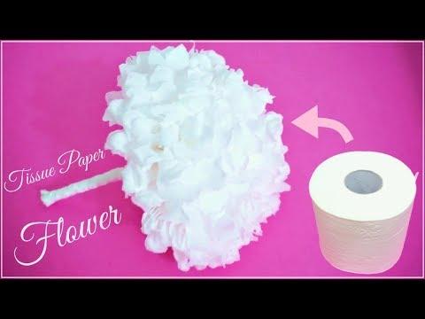 DIY Tissue Paper Flower / Beautiful Flower :: 휴지로 예쁜꽃 만들기 / 종이꽃 만들기