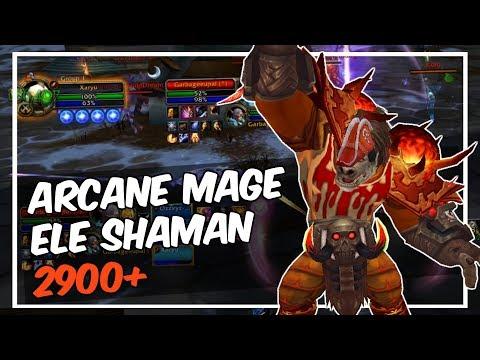 ARCANE MAGE + ELE SHAMAN 2900+ (Where I've been..)