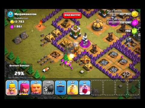 Clash of Clans Level 48 - Megamansion