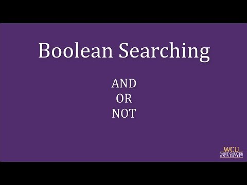 Library Search Tips & Tricks: Boolean