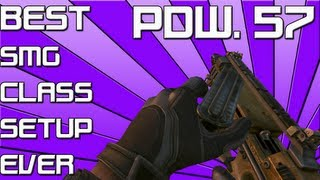 black ops 2    best smg pdw 57 class setup ever    kill confirmed 47 0