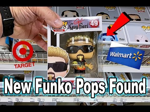 Target And Walmart Toy Hunt   New Pops Found