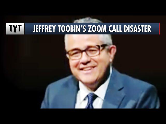 Jeffrey Toobin's Zoom Call Disaster Breaks The Internet