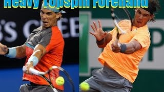 Tennis Forehand Topspin Technique | Get Topspin Like Nadal