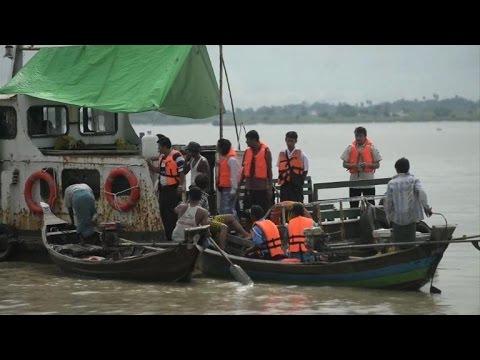 Myanmar divers claim legendary bell found