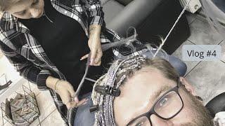 Fryzjer, Barber, Czarodziej, Warkocze i CornRows | Pracownia Vlog#4