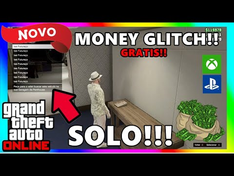 *NEW*SOLO💰MONEY GLITCH💰MAKE MILIONS NOW*EASY*GTA V ONLINE(XBOX/PS4)*MoneyDrop*