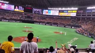 2015年8月11日 柳田悠岐 サヨナラ3ラン!!