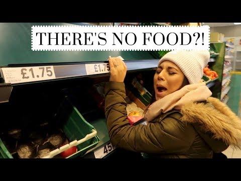 THERE'S NO FOOD! Vlog 39 | Charlotte Palmer Evans