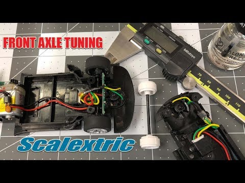 Scalextric Front Axle Tuning