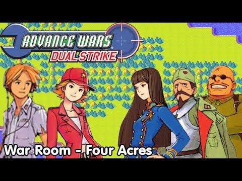 Slim Plays Advance Wars: Dual Strike - War Room (Four Acres)