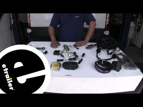 etrailer Best 2018 Ford Transit T250 Trailer Wiring Options