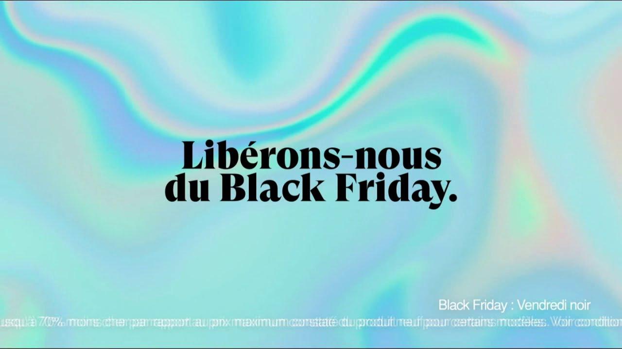 """Musique de la pub Back Market """"libérons-nous du Black Friday""""  2021"""