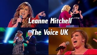 Leanne Mitchell The Voice UK the most powerful female voice in the world