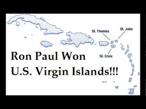 Ron Paul Won U.S. Virgin Islands with 29% - Voter Fraud AGAIN! (by matlarson10)