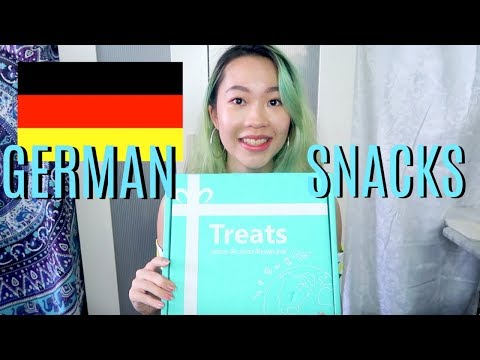 TRYING OUT GERMAN SNACKS! 🇩🇪(Try Treats) | Euodias