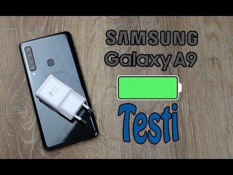 Samsung Galaxy A9 pil testi! Yapılmayanı yapıyoruz!