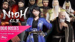 NIOH - DOJO BOSS (400 hours gameplay celebration)
