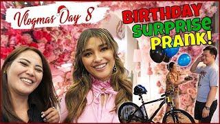 BIRTHDAY PRANK + SINURPRISE NI LIZA SOBERANO?