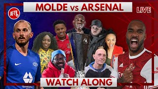 Molde vs Arsenal | Watch Along Live
