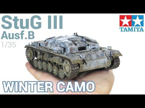 [Paint, Weathering and Winter Camo] Sturmgeschütz (StuG) III Ausf.B (Tamiya)