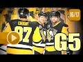 Columbus Blue Jackets vs Pittsburgh Penguins. 2017 NHL Playoffs. Round 1. Game 5. 04.20.2017 (HD)