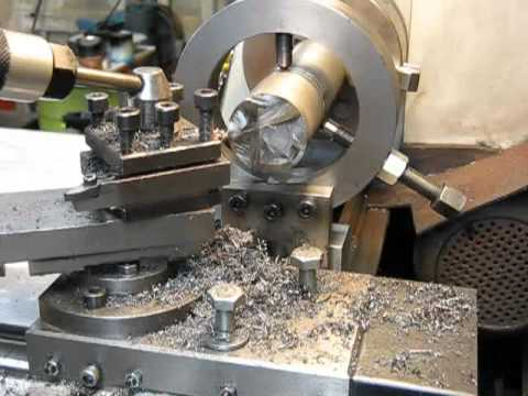 Make A Large Capacity Fixed Steady For A Metal Lathe Youtube