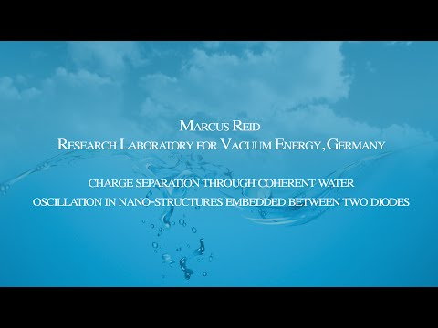 Marcus Reid - Conference on the Physics, Chemistry and Biology of Water 2014
