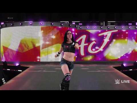 WWE 2K18 : AJ LEE ENTRANCE, SIGNATURE, FINISHER & VICTORY MOTION
