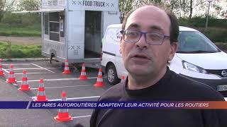 Yvelines | Les aires autoroutières adaptent leur activité pour les routiers
