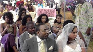 George and Viola's wedding