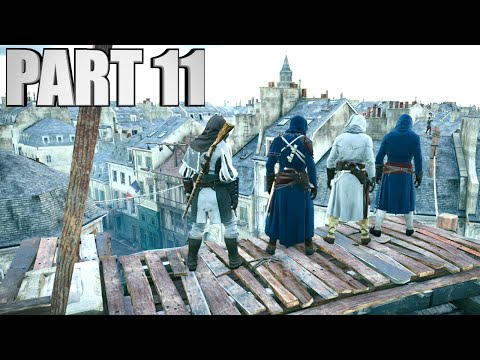 Assassin's Creed Unity Walkthrough Part 11 - Co-op Mission! - The Food Chain