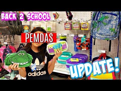 BACK TO SCHOOL  SHOPPING * TARGET * NEW FINDS CUTE LOCKER DECOR JULY 2019