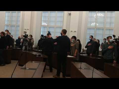 Вголос. Інформаційне агентство: Перше засідання Львівської міської ради 24.11.2020