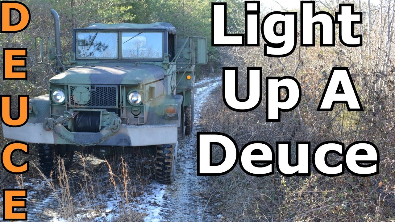 How To Light Up a Deuce and a Half! M A Rear Light Wiring Diagram on